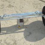 Prídavné zadné kolesá Triglav s brzdou